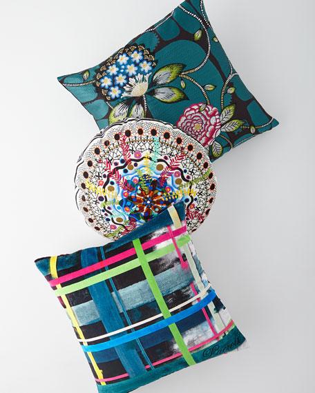 Lentrelacs Multicolored Pillow