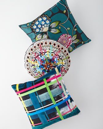 Lentrelacs Multicolored Pillow  and Matching Items