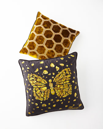 Le Messager Iris Pillow  and Matching Items