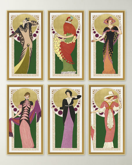 'Deco Couture 2' Wall Art