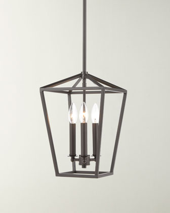 Fairfax 3-Light Oil Rubbed Bronze Mini Pendant  and Matching Items