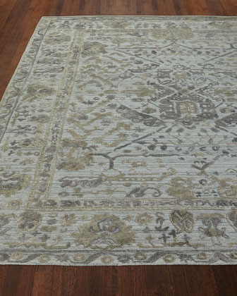 Boyce Hand Loomed Rug  4' x 6' and Matching Items