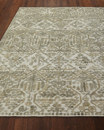 Demings Hand Loomed Rug  4' x 6' and Matching Items