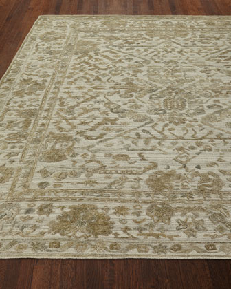 Rosser Hand Loomed Rug  4' x 6' and Matching Items