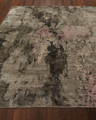 Yvonne Hand-Knotted Rug  8' x 10'  and Matching Items