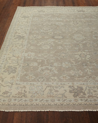 Sonora Hand-Knotted Rug  4' x 6'  and Matching Items