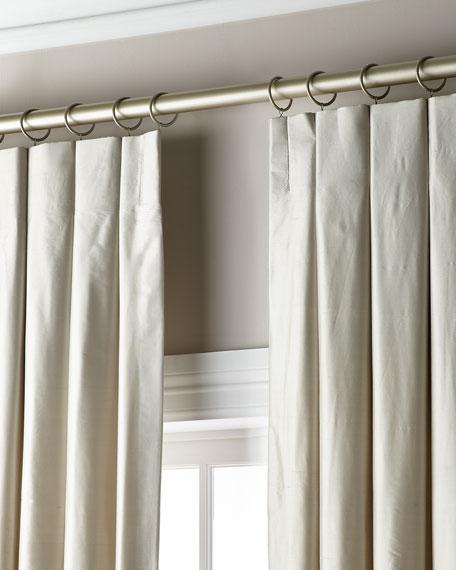 "Madison Silk Curtain, 48"" x 108"""