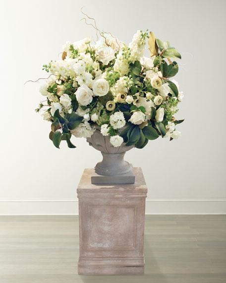 Amaryllis & Rose Centerpiece