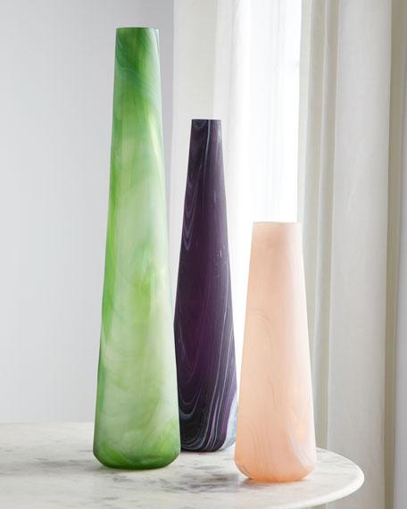 Eggplant Northern Lights Vase