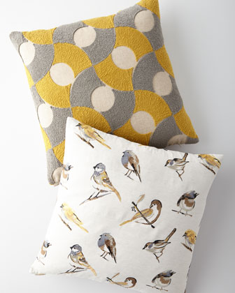 Sparrow Pillow  and Matching Items