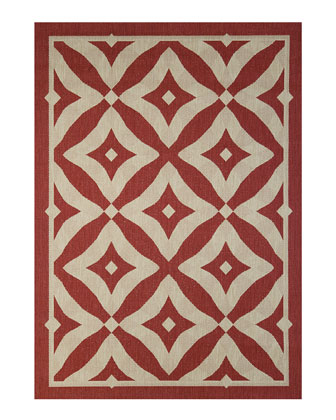 Silver Collection Outdoor Rug  7.1' x 10'  and Matching Items