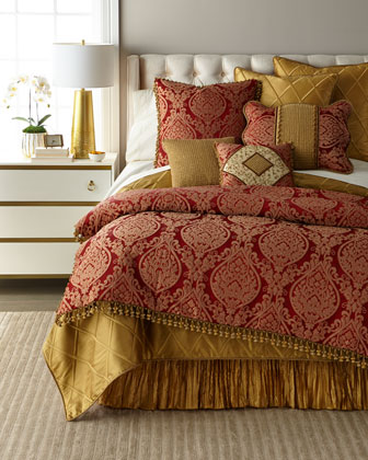 Luxury Comforters & Duvet Covers at Horchow
