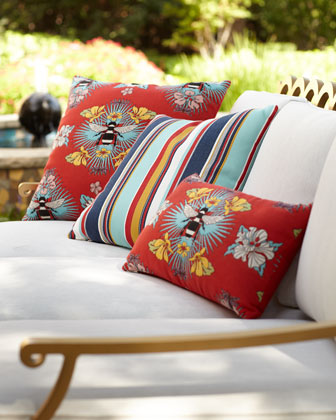 Sicily Stripe Indoor/Outdoor Pillow and Matching Items