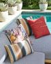 Passage Indoor/Outdoor Lumbar Pillow