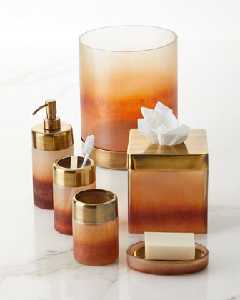 Torched Wastebasket  and Matching Items
