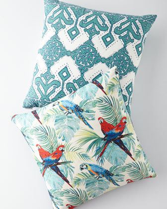 Macaw Pillow  and Matching Items