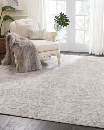 Dawson Hand-Knotted Rug  10' x 14' and Matching Items