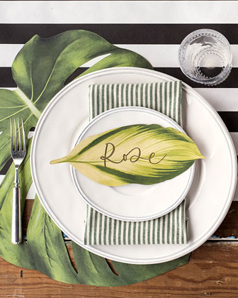 Tropical Paper Table Setting Decor Collection  and Matching Items