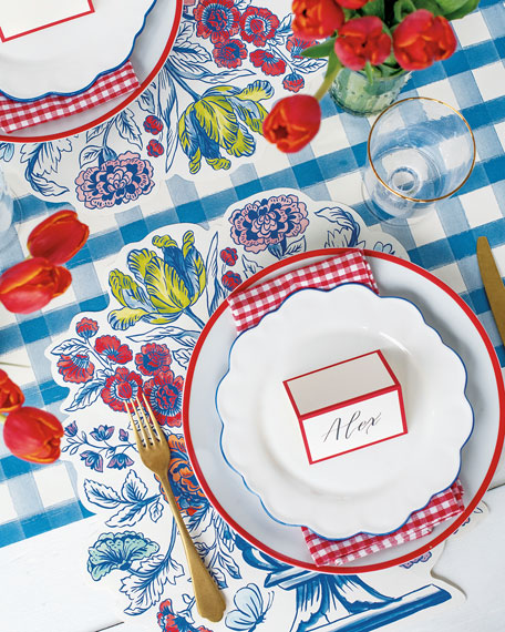 China Blue Table Setting Decor Collection