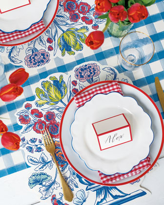 China Blue Table Setting Decor Collection  and Matching Items