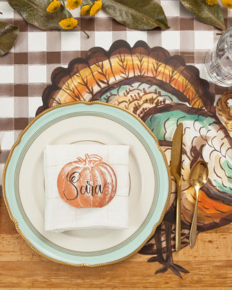 Thanksgiving Table Setting Decor Collection  and Matching Items