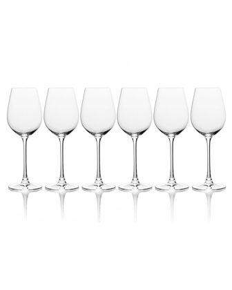 Stiletto Red Wine Glasses  Set of 6  and Matching Items