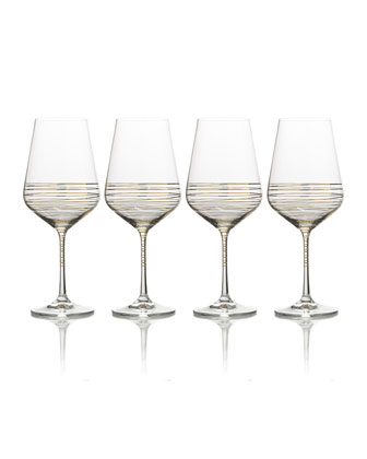 Electric Boulevard Stemless Wine Glasses  Set of 4  and Matching Items