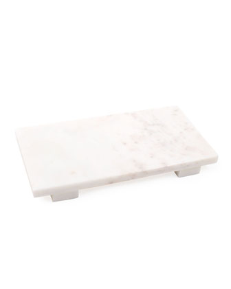 White Marble Small Cheese Board  and Matching Items