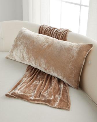 Silk Velvet Oversize Throw and Matching Items