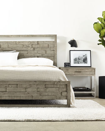 Shaw Panel Bed - California King and Matching Items