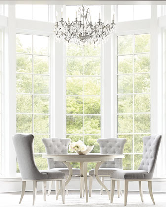 Allure Round Dining Table  and Matching Items