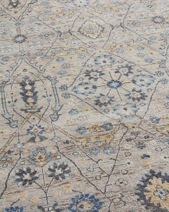 Bryce Hand-Knotted Rug  12' x 15'  and Matching Items