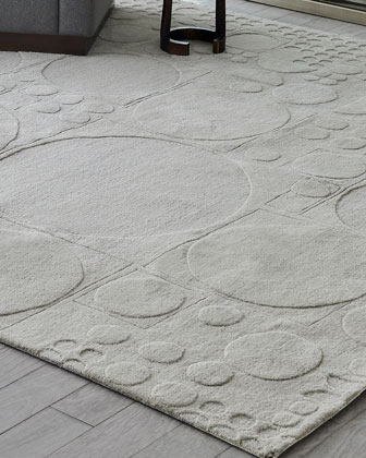 Dots Hand-Tufted Rug  8' x 10'  and Matching Items