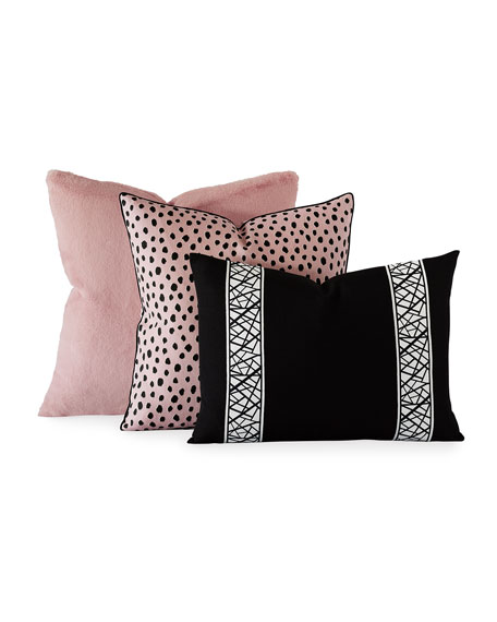 Spectator Pink Decorative Pillow