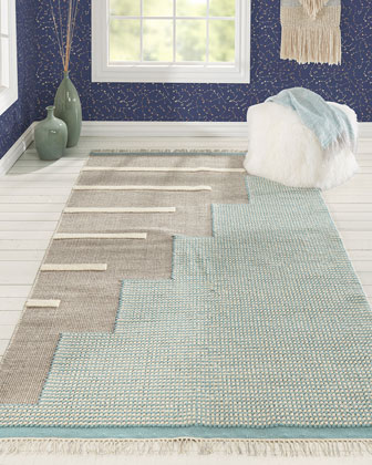 Twisp Hand-Woven Runner  2'3 x 8'  and Matching Items