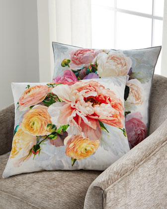 Tourangelle Coral Pillow  and Matching Items