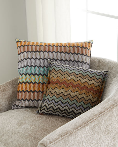 """Waterford Pillow, 24""""Sq."""