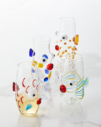 Imperator Fish Stemless Wine Glass  and Matching Items