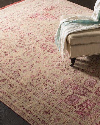 Carnaby Hand-Knotted Rug  10' x 14'  and Matching Items