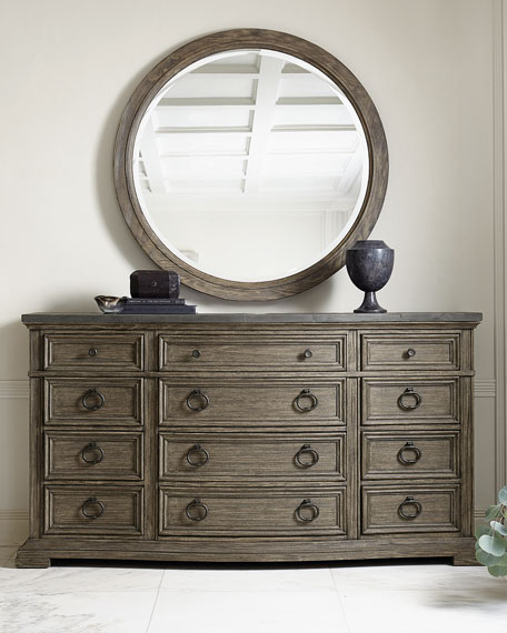 Canyon Ridge Round Mirror
