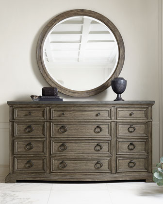 Canyon Ridge Round Mirror and Matching Items