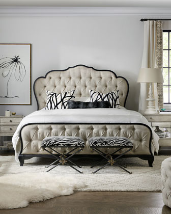 Collette King Bed  and Matching Items