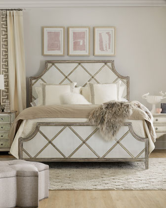 Diamont California King Panel Bed  and Matching Items