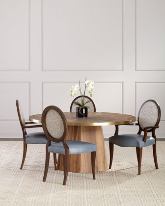 Pearlington Leather Dining Side Chair  and Matching Items