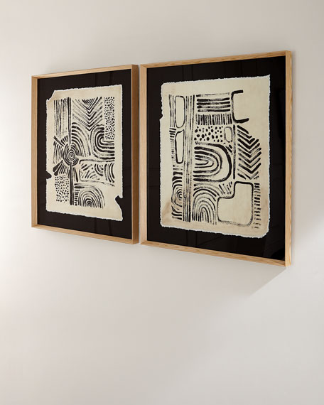 """Ancient Artifact I"" Giclee Wall Art"