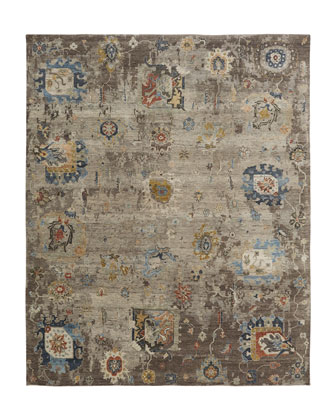Wink Hand-Knotted Rug  10' x 14'  and Matching Items