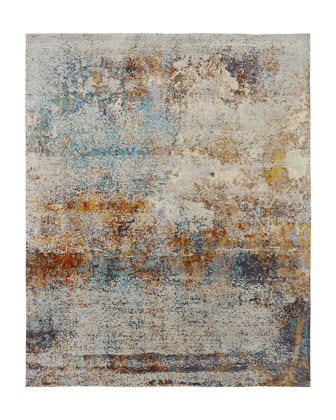 Banneker Hand-Knotted Rug  10' x 14'  and Matching Items