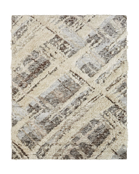 Mellen Hand-Knotted Rug, 9' x 12'