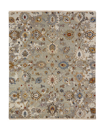 Maiden Soumak Weave Knotted Rug  10' x 14'  and Matching Items