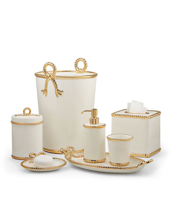 Rope Wastebasket and Matching Items